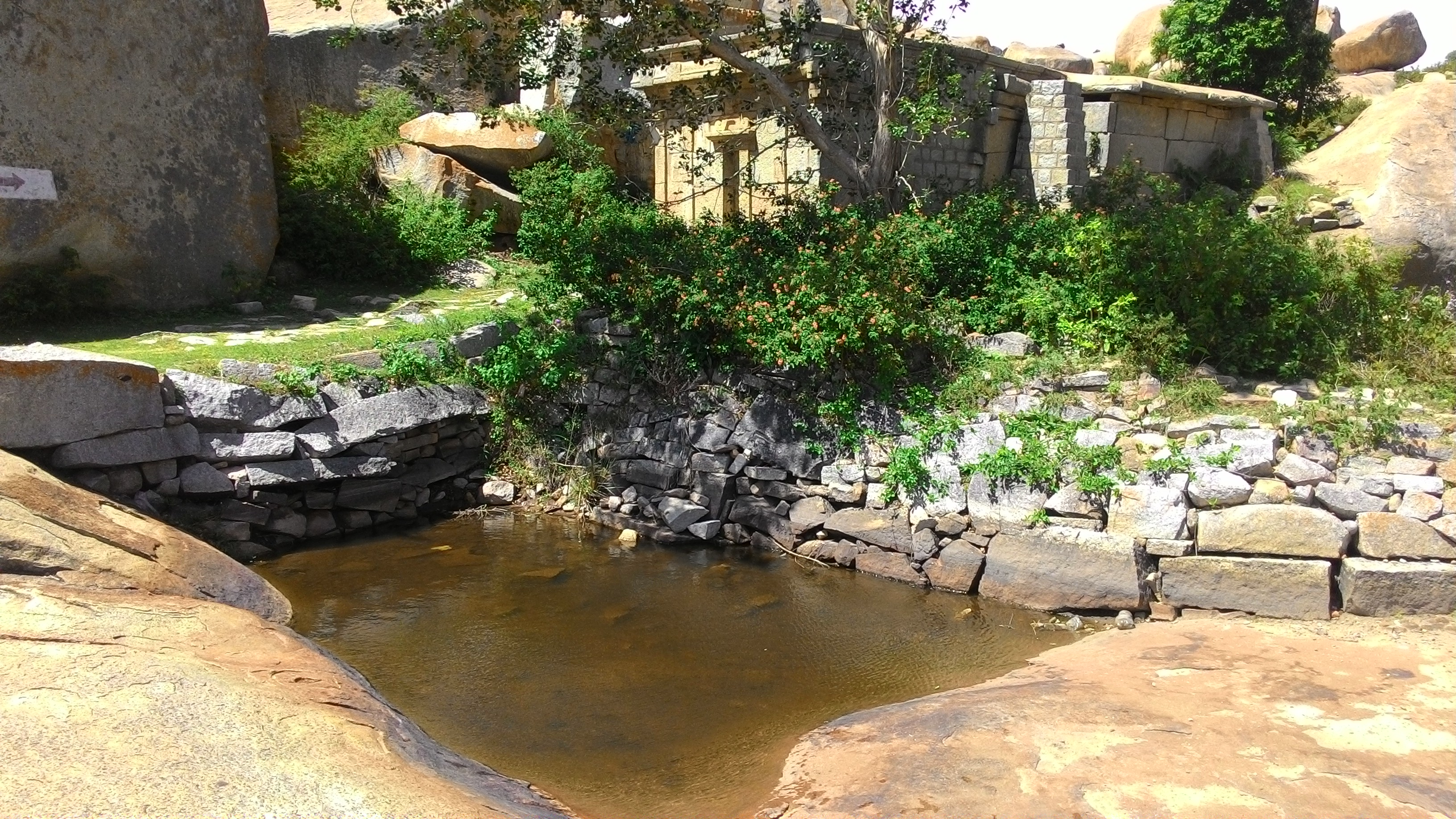 Pond where Sitadevi washed the clothes of Lava and Kusha