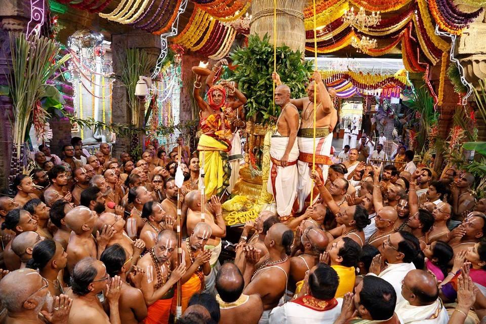 Brahmotsavam in Tirupati