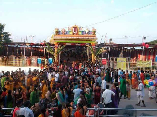 Vaikuntha Ekadashi 2015 in Bhadrachalam