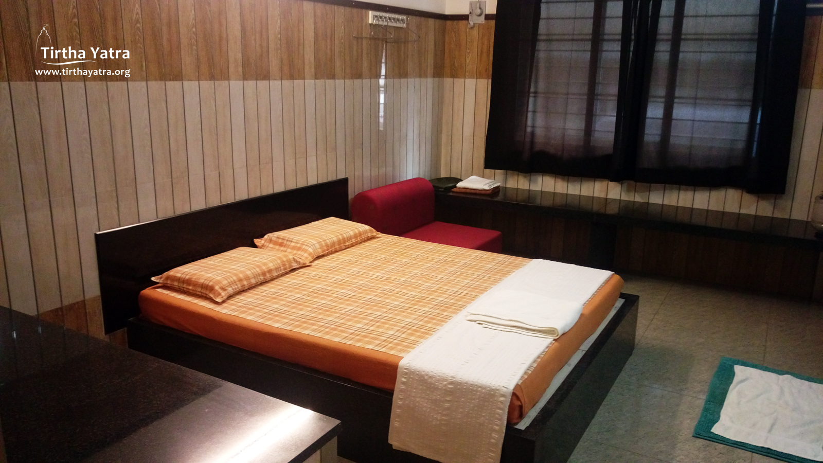 Our guest house in Srirangam