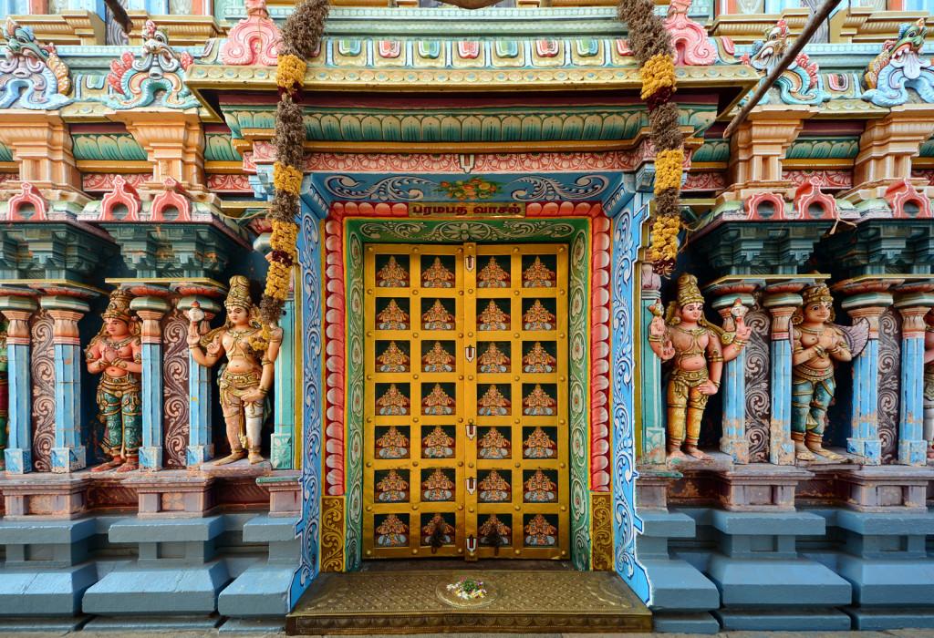Paramapada Vaasal in Srirangam Temple