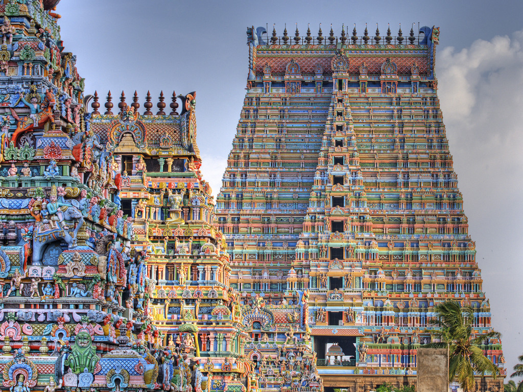 Rajagopura of Srirangam Temple