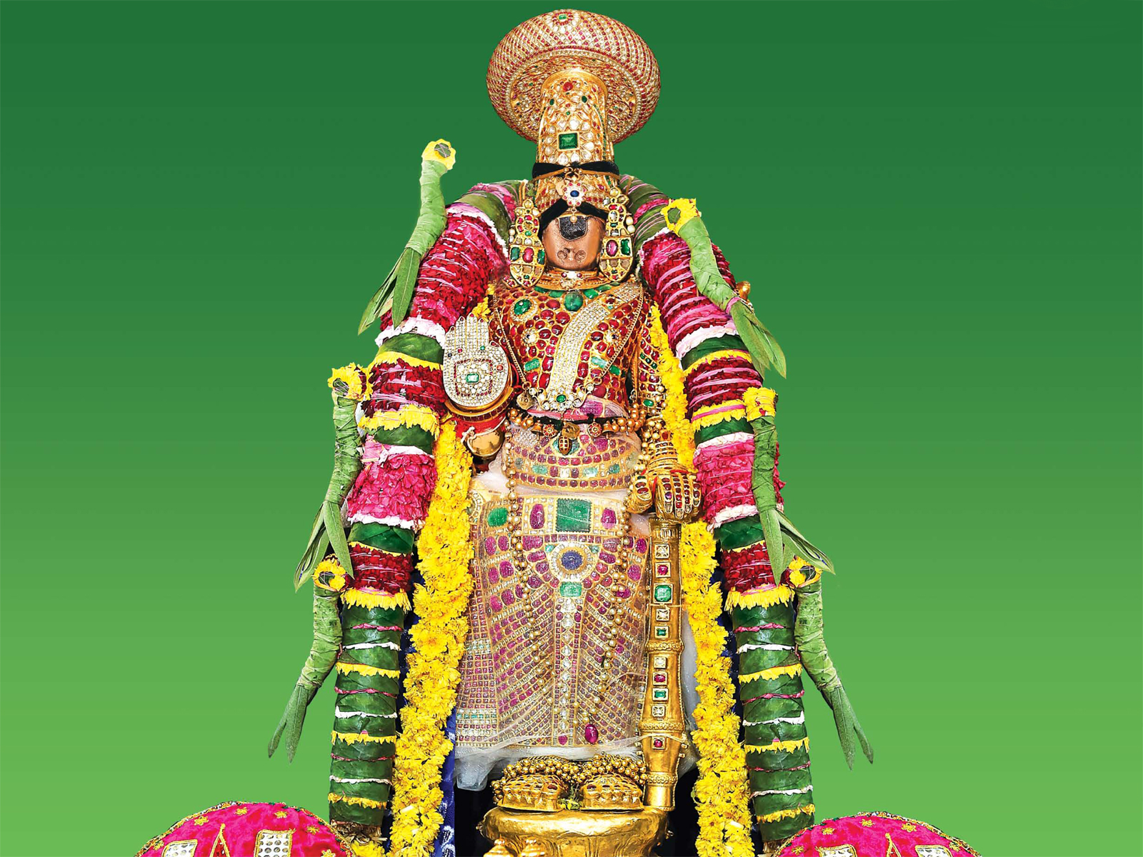 Sri Namperumal in Srirangam temple