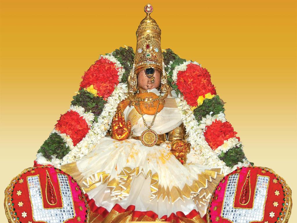 Ranganayaki Thayar in Srirangam temple