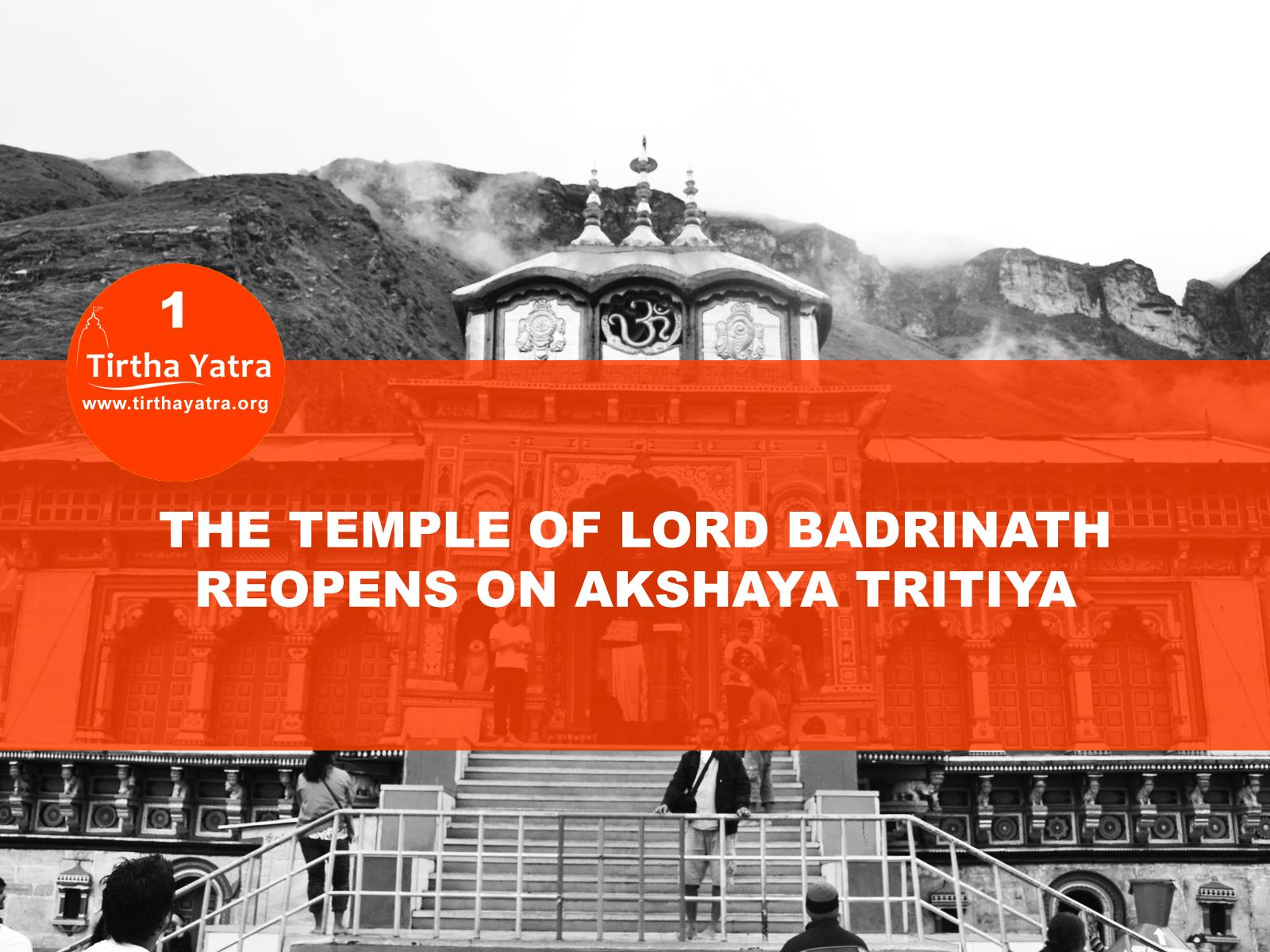 Badrinath temple opens on Akshaya Tritiya