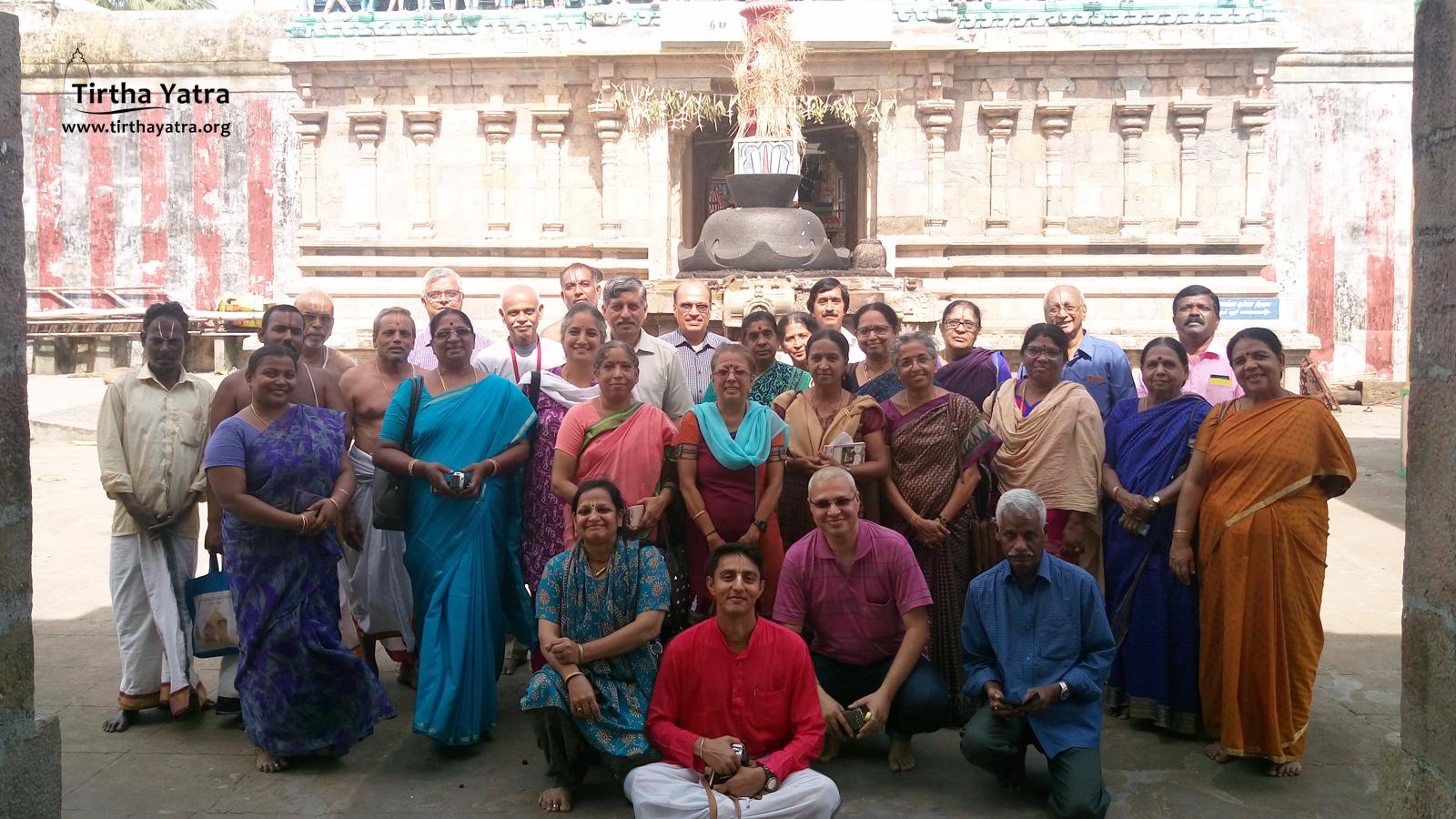 Yatris of Chola Nadu Divya Desham Yatra