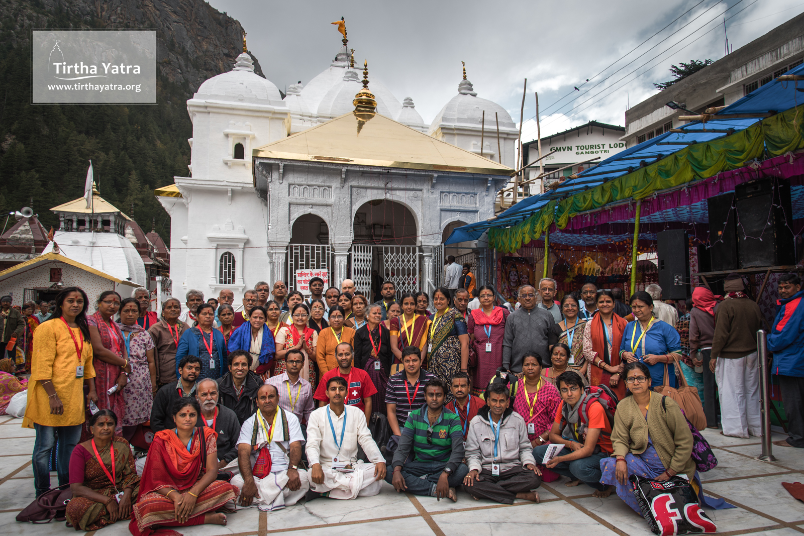 The Char Dham Yatra at Gangotri