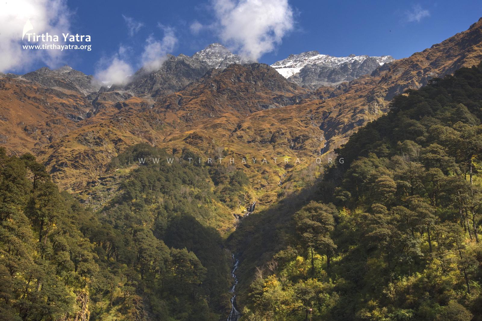 Kalinda Parvat and Kalindi River