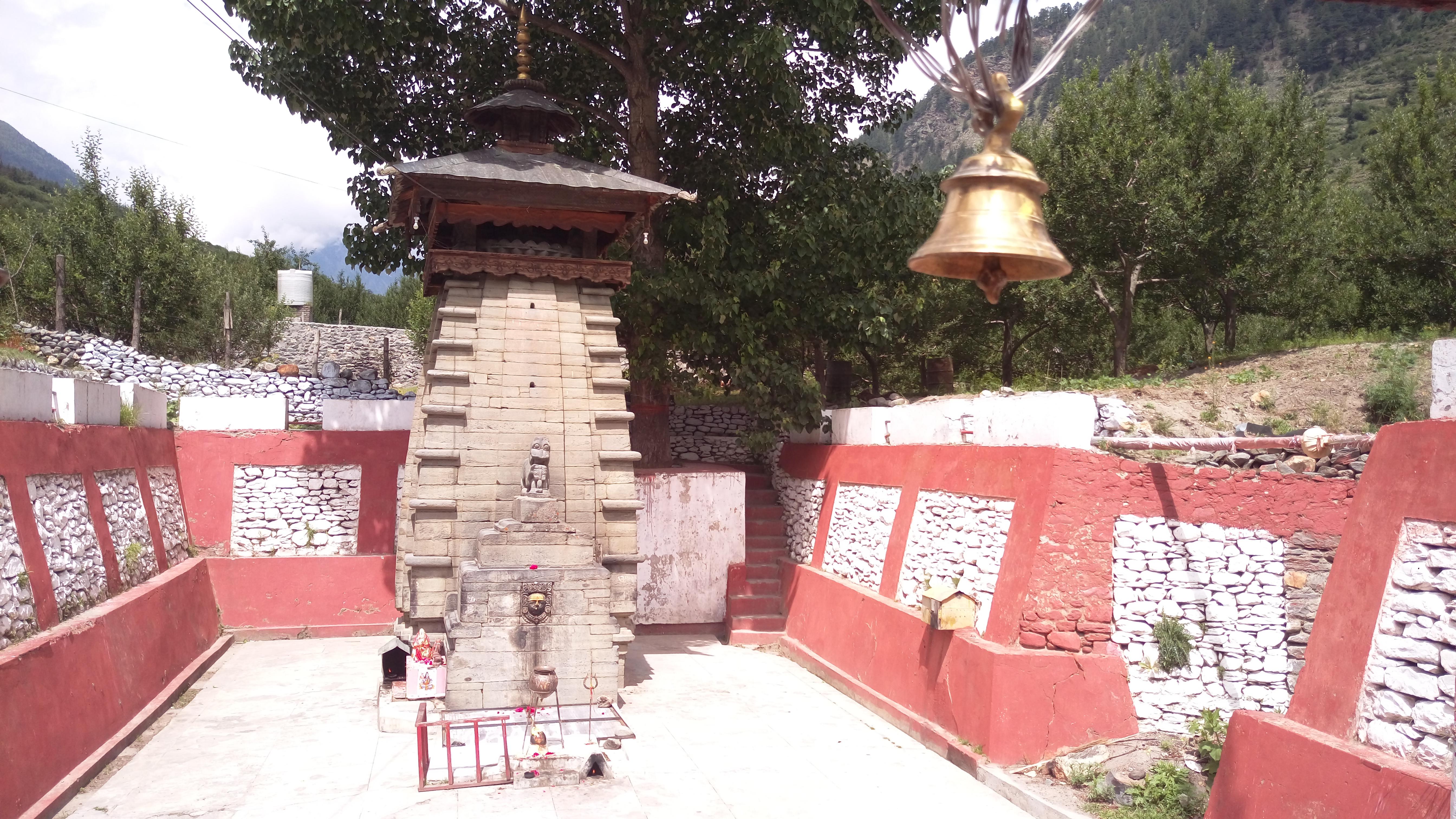 Kalp Kedar Temple in Uttarkashi