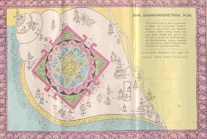 Shankha Kshetra map