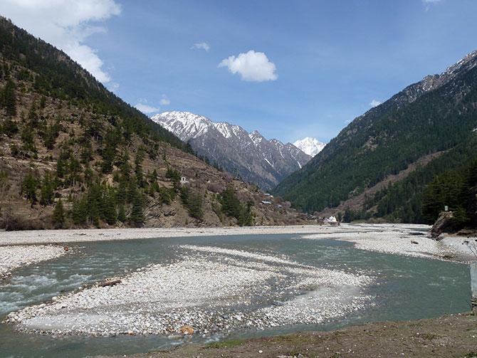 en-route Gangotri