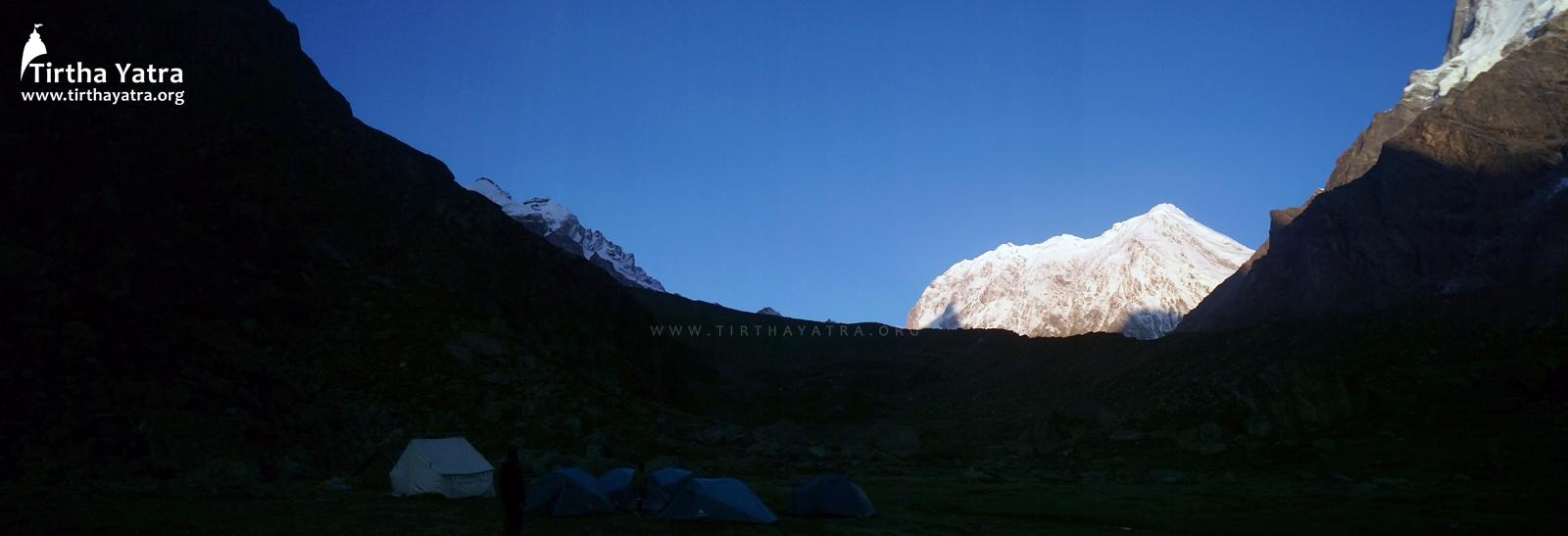 Camps at Chakra Tirtha