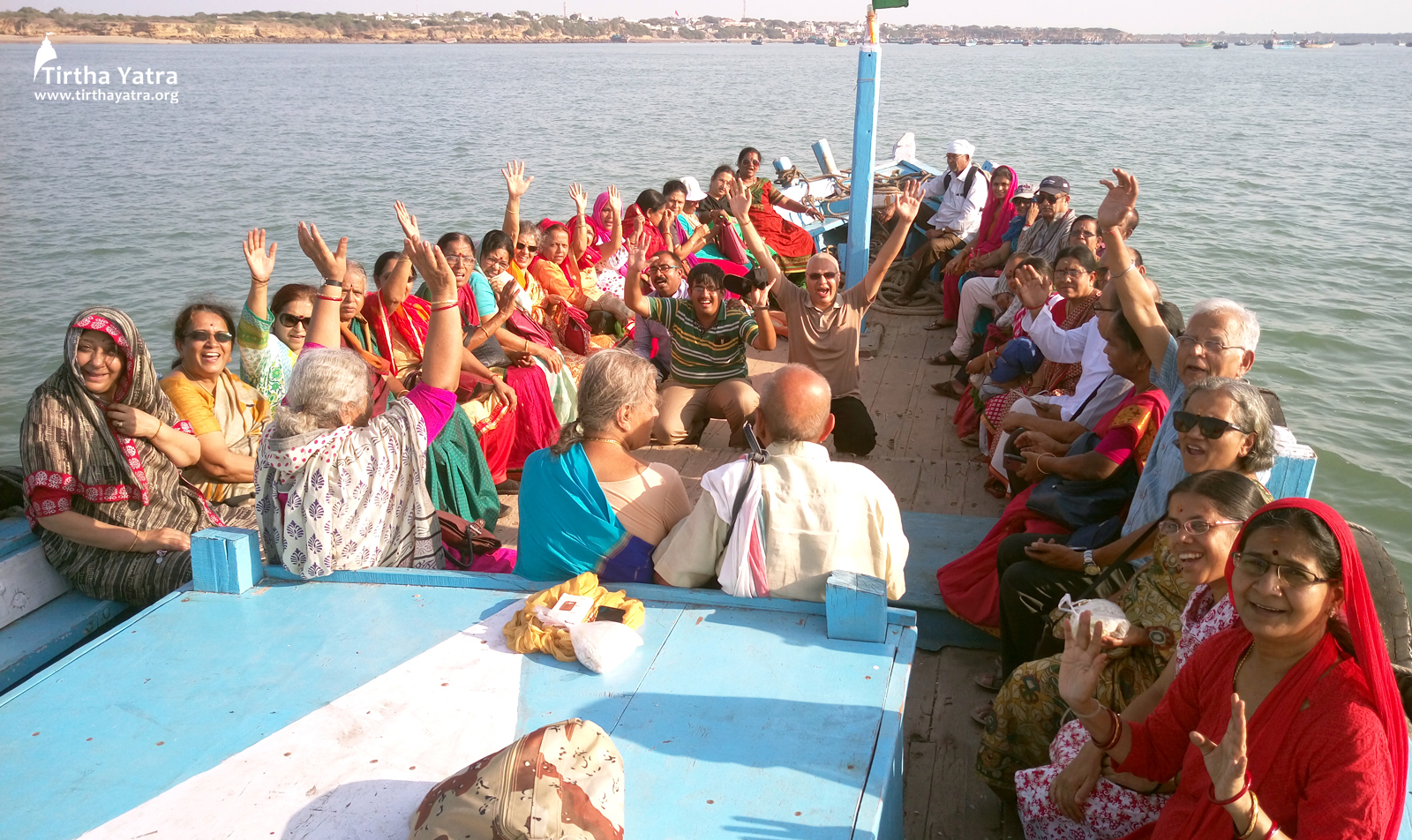 Boat ride to Bet Dwarka