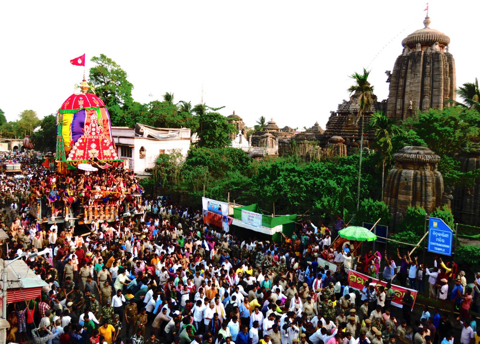 Rukuna Rath Lingaraj Temple