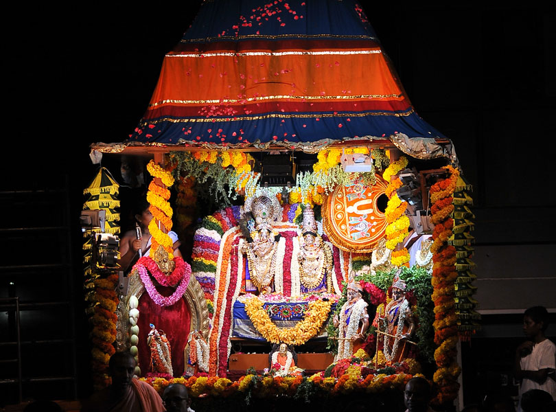 Brahmotsava at ISKCON Bangalore