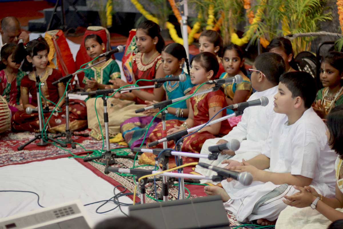 Harinam festival at ISKCON bangalore